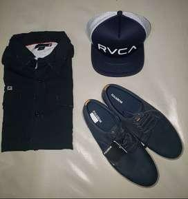 Gorra camisas camisetas boardshorts zapatos