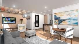 Apartamento nuevo en el barrio Chicó Norte