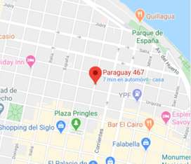 Alquilo cochera Paraguay 467 1º Piso