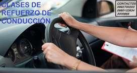 CLASES DE REFUERZO DE CONDUCCIÓN