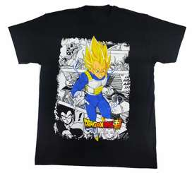 Camiseta Vegeta súper Sayayin, Dragón ball.