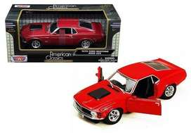 AUTO FORD MUSTANG BOSS 429 1970 MOTOR MAX PREMIUM COLECTION ESCALA 1/24