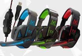 Audifonos gamer 7.1 jyr