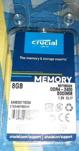 Memoria 8gb DDR4-2400, económica!!!