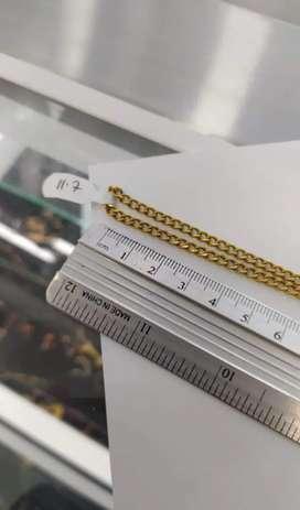 Cadena de oro 18k italiano