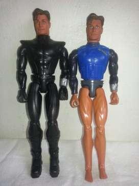 Muñecos max Steel Mattel