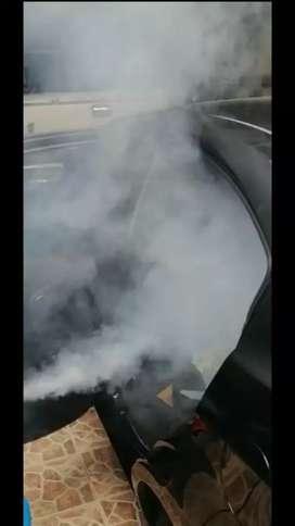 Desinfecciones al vapor con activo de amonio