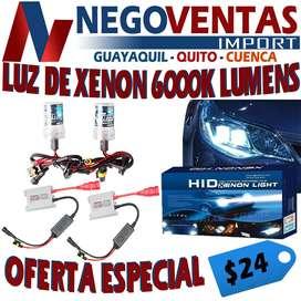 LUZ DE XENON EN H4 PARA CARRO