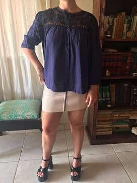 Camisa Jazmín Azul