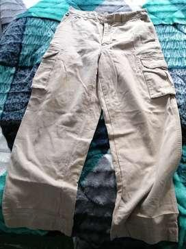 Pantalón gap tipo cargo talla 33