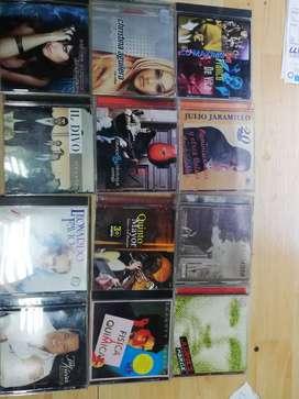 CDs originales lote 12 unidades