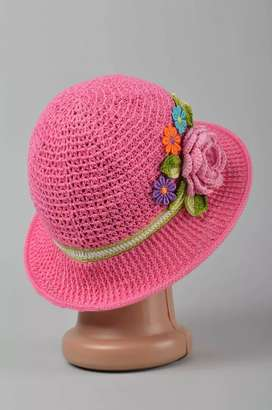Sombrero artesanal a Crochet