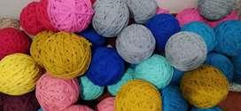 Trapillo, lanas, hilos y materiales manualidades