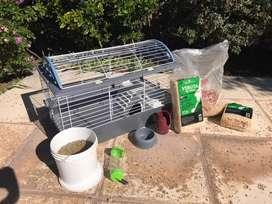 Vendo jaula cobayo, huron, conejo