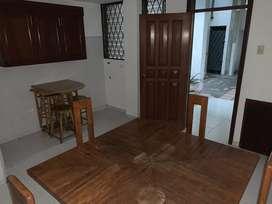 Alquiler/Renta Suite Semi Amoblda; Urdesa Central, Guayaquil