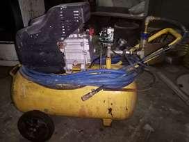 Vendo  compresor de 2.5 hp marca porten