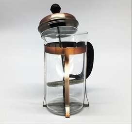 Cafetera Francesa 600ml, Prensa para Oficina, Casa, Trabajo Nocturno.