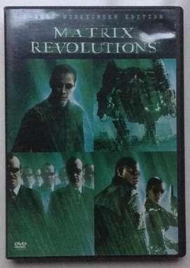 Matrix Revolutions Dvd importado