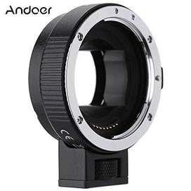 Adaptador Electronico De Sony Mount E A Canon Eos Ef Ander
