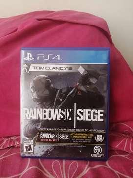 Cambio Rainbowsix Siege FISICO Playstation 4 por FIFA 20