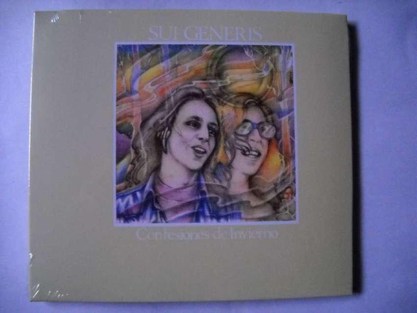 sui generis confesiones de invierno cd sellado 0
