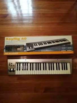 Liquido Vendo permuto teclado controlador midi M-Audio