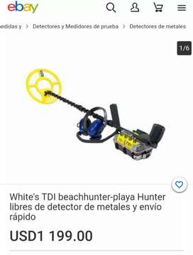 Detector de Metal BeachHunter