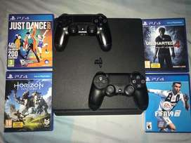 Play 4 ps4 slim 1TB de memoria