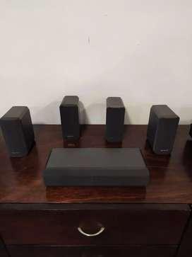 5 parlantes Sony para teatro en casa