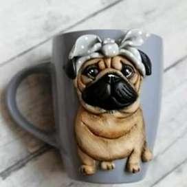 Mugs personalizados en alto relieve