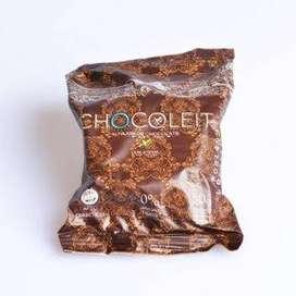 Alfajores CHOCOLEIT Sin Azucar Y Sin Tacc - 12 Unidades
