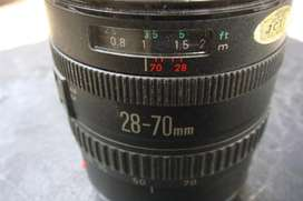 Lente Canon 28-70, profesional