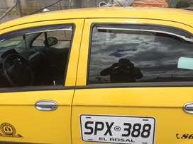 Se vende taxi Chevrolet Spark 2012