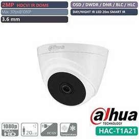 Cámara Domo Dahua 2mp 1080p Hac-t1a21- 0280b 20m