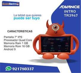 TABLET ADVANCE CON ESTUCHE INTRO TR 3947