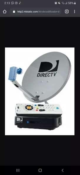 Antena directv + decodificador kit FullHd