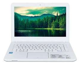 "portatil asus 14"" 4gb 500 gb linux blanco"