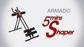 Maquina Tv Abdominales Five Shapers Minute Ab Vertical + Obs