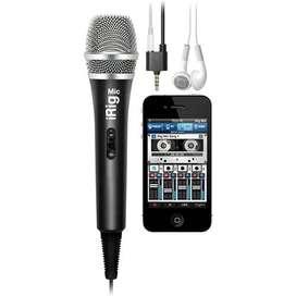 Microfono Grabacion Irig Mic Ik Multimadia