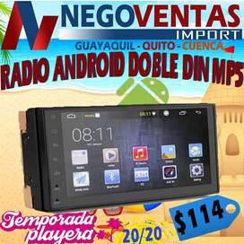 RADIO ANDROID DOBLE DIN MP5