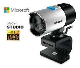 Cámara Web Microsoft Lifecam Studio, Full HD Hd