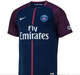 Camiseta del Paris Saint Germain (PSG) de Francia Titular 2017/18 marca Nike Original