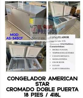 Congelador AMERICAN STAR