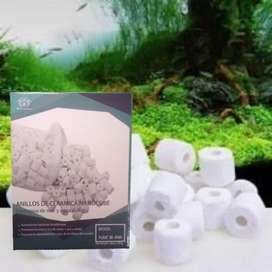 Anillos de cerámica 500gramos acuarios