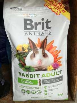 Brit Conejo Adulto 3kg DELIVERY LIMA PUEBLO LIBRE JESUS MARIA