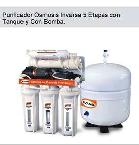 Purificadores de agua Osmosis inversa