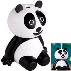 Humificador Ultrasónico  120 ml portátil Diseño de oso panda