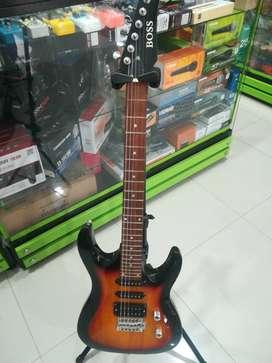 Guitarra eléctrica de excelente calidad Boss