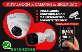 Venta e Instalación de cámaras de seguridad en ICA