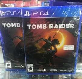 Shadow Of The Tomb Raider Ps4 Nuevo Sellado Stock
